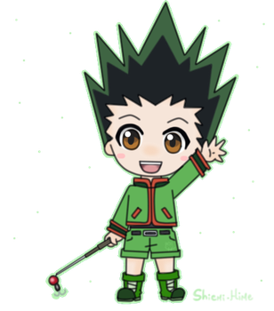 Gon [Sticker] by Shiemi-Hime