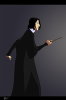 snape lurks by salamandersoup