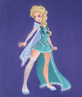 Sailor Elsa by VioletKy