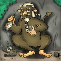 Alcoholized Mountain Troll by SnipperWorm