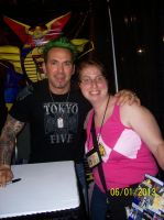 Me and JDF by Huntermoon