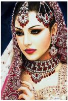 Indian Beauty by FranyBerry