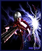 Lightening Dante by MonicaHooda