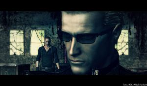 I'm not finished with you Wesker by WolfShadow14081990