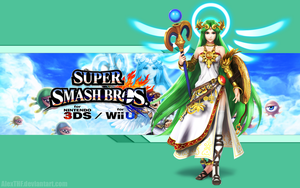 Palutena Wallpaper - Super Smash Bros. Wii U/3DS by AlexTHF