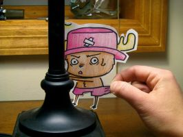 Tony Tony Chopper by Bubble-Gum-Gir