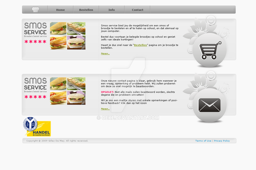 Smosservice - Homepage by oEXE