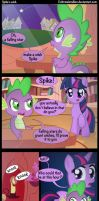 Spike's wish. by Coltsteelstallion