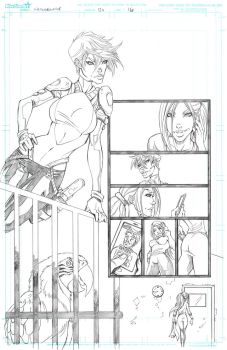 Witchblade 134 Page 16 by Patrick-Hennings