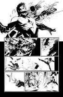 Nightwing 02 Page 18 Inks by JPMayer
