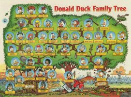 Donald's family tree by SarahCaballeros