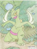 Sceptile - King of the Forest by ImmaComicGenius