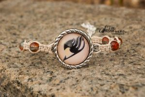 Fairy Tail Bracelet by zeldalilly