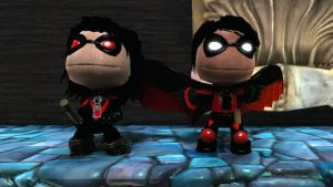 LBP Nightwing and Red Robin by Canovoy