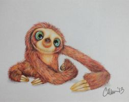 Drawing of Belt from The Croods by Live4ArtInLA
