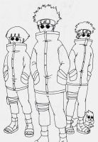 8 Team Shino Style by Pia-sama