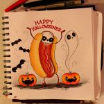 Happy Halloweiner! by loveandasandwich