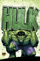MA: Hulk 4 Cover by DNA-1
