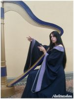 Pandora Harp by darktenabre