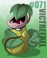Pokemon: 071 Victreebel by Xxid