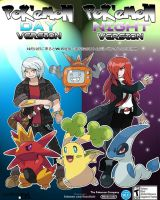 Pokemon Day and Night Promo Page by Phatmon