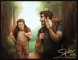 The Joy of Hiking by spider999now