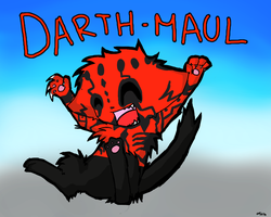 Kitty Darth Maul by 00Schadow00virus00