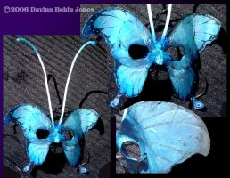 Butterfly Mask by FamiliarOddlings