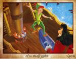 Peter Pan Fight by Laurine-Tellier