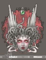 TShirt Commision Medusa by Medusa-Dollmaker