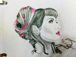 GraphiteArt_pink by dilipchainani