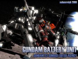 Gundam Battery Lunar Command by nahumreigh
