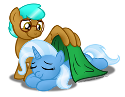 Commission:  Good Night Sweet Princess by AleximusPrime