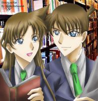 Shinichi and Ran by Sartika3091