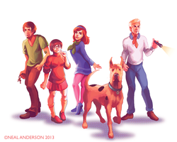 Mystery Incorporated by Phobos-Romulus