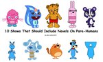 10 Shows That Should Include Navels On Para-Humans by dev-catscratch