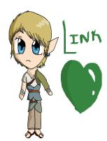 The Legend of Chibi Link by ViperaGlacialis