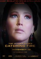 The Girl On Fire Catching Fire by fillesu96