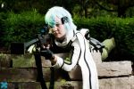 Sinon from SAO cosplay - Sniping from afar by Rinkujutsu