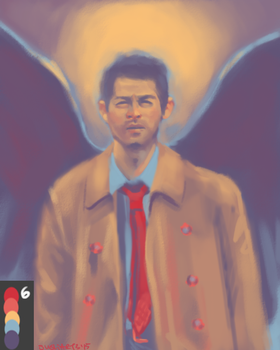 Castiel in #6 by Sushi-Arts