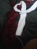 White Christmas Scarf by ValentineRevenge