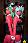Scanty and Kneesocks by elitecosplay