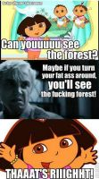 when draco watches dora by Ouranlover321