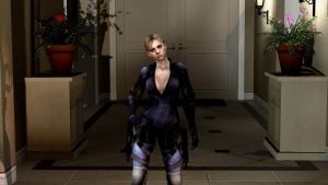 a lighting test with jill by McChris1