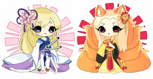 Chinese Chibi's by Megiemu