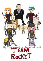 PokedexTime! Gold/Silver Team Rocket. by thelimeofdoom
