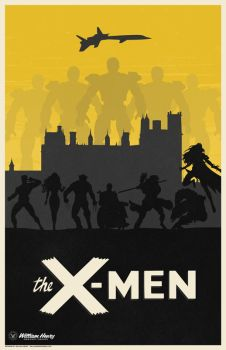 The X-Men poster by billpyle