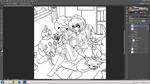 PokeStuck WIP by cinnibites