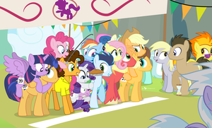 The 3rd Annual Rainbow Falls Stallion Run by dm29