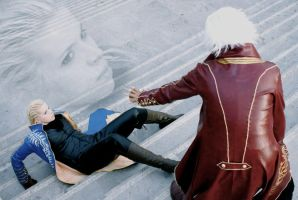 Vergil - overwhelmed by myself by xXBloodyXx